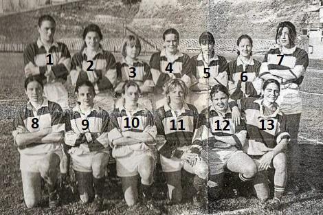 Historia del Club – Rugby femenino1998
