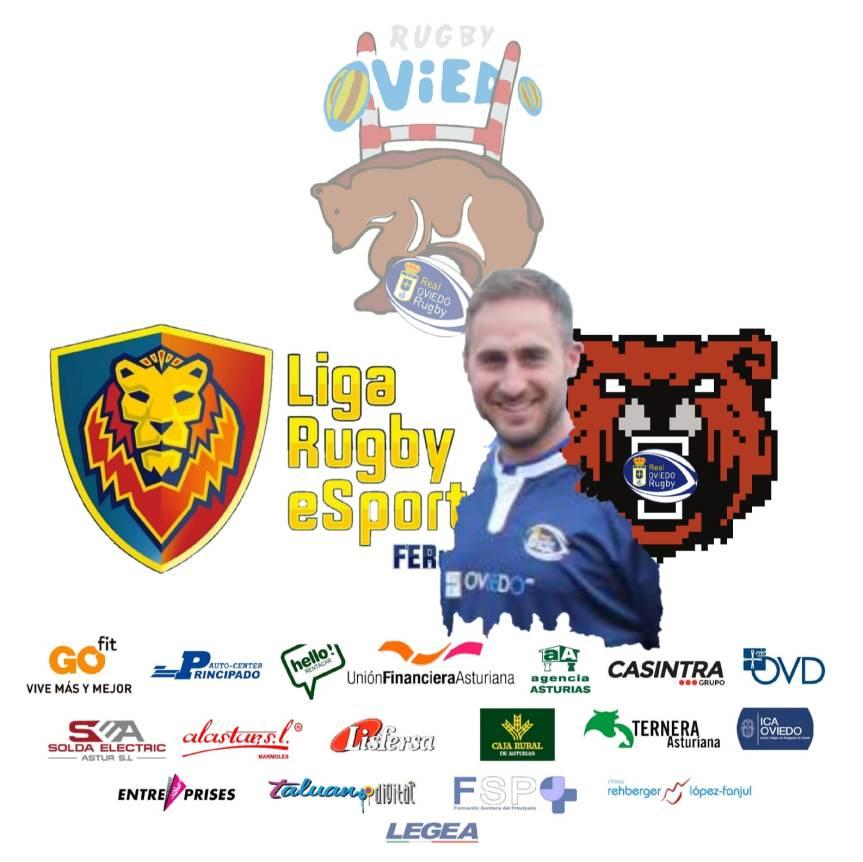 Pedraza representará al Real Oviedo Rugby enE-Sports